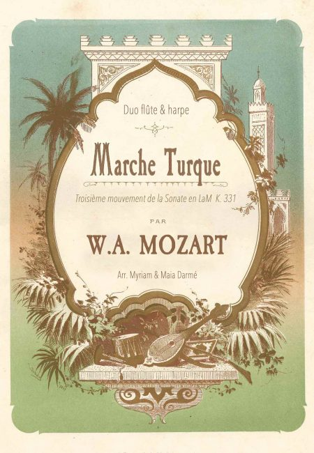 Couverture Marche Turque Mozart - Traversees