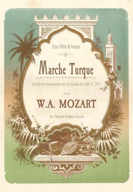 Couverture Marche Turque Mozart - Traversees